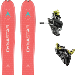 DYNASTAR VERTICAL BEAR W 19 + DYNAFIT ST RADICAL 92 MM YELLOW 19