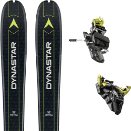 DYNASTAR VERTICAL BEAR 19 + DYNAFIT ST RADICAL 92 MM YELLOW 19