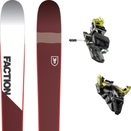 FACTION PRIME 1.0 19 + DYNAFIT ST RADICAL 92 MM YELLOW 19