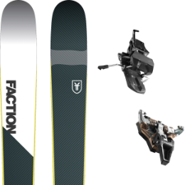Pack ski+fix FACTION FACTION PRIME 2.0 19 + DYNAFIT ST RADICAL TURN 95 BLACK 21 - Ekosport
