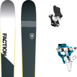 Pack ski+fix FACTION FACTION PRIME 2.0 19 + DYNAFIT SPEED TURN 2.0 BLUE/BLACK 21 - Ekosport