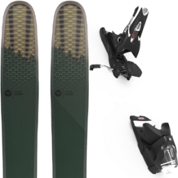 ROSSIGNOL SUPER 7 HD 20 + LOOK SPX 12 GW B120 BLACK 20