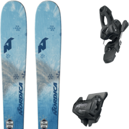 NORDICA ASTRAL 84 AQUA 19 + TYROLIA ATTACK² 11 GW W/O BRAKE [L] SOLID BLACK 20