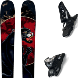 ROSSIGNOL BLACK OPS 98 20 + MARKER SQUIRE 11 ID BLACK 20