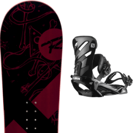 ROSSIGNOL CIRCUIT WIDE 20 + SALOMON RHYTHM BLACK 20