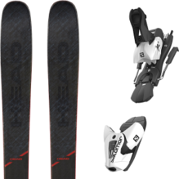 HEAD KORE 99 20 + SALOMON Z12 B100 WHITE/BLACK 21