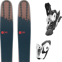 ROSSIGNOL SOUL 7 HD 20 + SALOMON Z12 B100 WHITE/BLACK 19