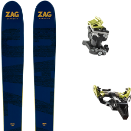 ZAG UBAC 95 20 + DYNAFIT SPEED RADICAL BLACK/YELLOW 19