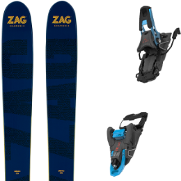 ZAG UBAC 95 20 + SALOMON S/LAB SHIFT MNC BLUE/BLACK SH100 20