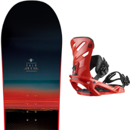 SALOMON PULSE 19 + SALOMON RHYTHM RED 20