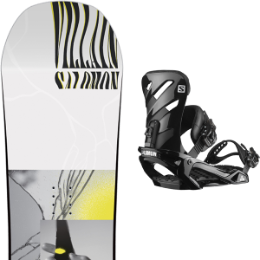 SALOMON THE VILLAIN GROM 20 + SALOMON RHYTHM BLACK 20