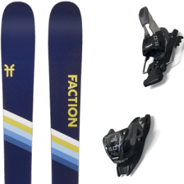 FACTION CANDIDE 2.0 20 + MARKER 11.0 TCX BLACK/ANTHRACITE 20