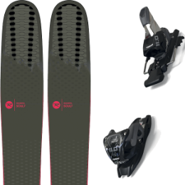 ROSSIGNOL SOUL 7 HD W 20 + MARKER 11.0 TCX BLACK/ANTHRACITE 20