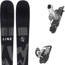 LINE BLEND 20 + SALOMON WARDEN 11 N SILVER/BLACK L100 19