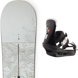 BURTON DESCENDANT 20 + BURTON FREESTYLE BLACK 20