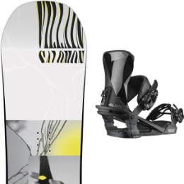 SALOMON THE VILLAIN GROM 20 + SALOMON ALIBI BLACK 20