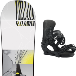 SALOMON THE VILLAIN GROM 20 + BURTON MALAVITA BRACKISH 20