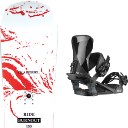 BU SKI RIDE RIDE BURNOUT 20 + SALOMON ALIBI BLACK 20 - Ekosport