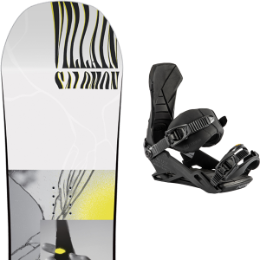 SALOMON THE VILLAIN GROM 20 + NITRO TEAM ULTRA BLACK 20