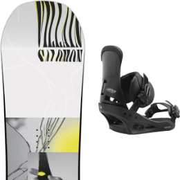 SALOMON THE VILLAIN GROM 20 + BURTON CUSTOM BLACK 20