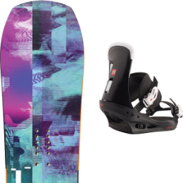 YES GHOST 20 + BURTON FREESTYLE BLACK 20