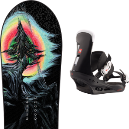 LIB TECH DYNAMO C3 20 - UNI + BURTON FREESTYLE BLACK 20