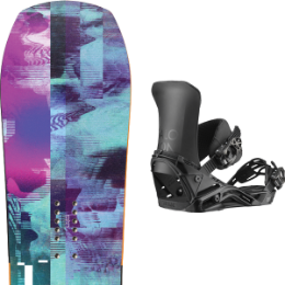 YES GHOST 20 + SALOMON DISTRICT BLACK 20