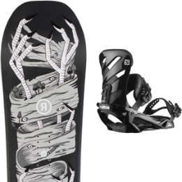 RIDE WILDLIFE 20 + SALOMON RHYTHM BLACK 20