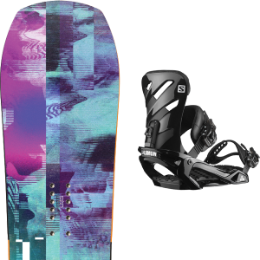 YES GHOST 20 + SALOMON RHYTHM BLACK 20