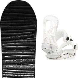 SALOMON CRAFT 19 + DRAKE FIFTY WHITE 20