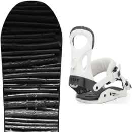 SALOMON CRAFT 19 + DRAKE KING WHITE 20