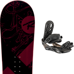ROSSIGNOL CIRCUIT WIDE 20 + NITRO CHARGER BLACK 21