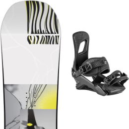 SALOMON THE VILLAIN GROM 20 + NITRO RAMBLER ULTRA BLACK 20