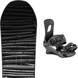 SALOMON CRAFT 19 + NITRO RAMBLER ULTRA BLACK 20