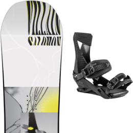 SALOMON THE VILLAIN GROM 20 + NITRO ZERO ULTRA BLACK 20