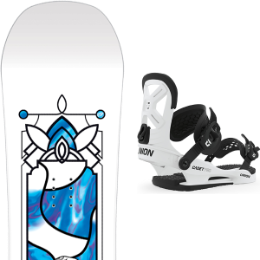 SALOMON GYPSY GROM 20 + UNION YTH CADET PRO WHITE 20