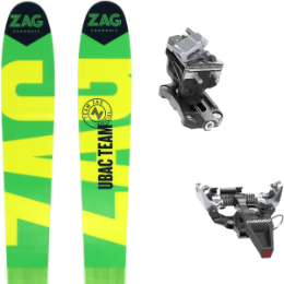 ZAG UBAC TEAM 21 + DYNAFIT SPEED RADICAL SILVER 20