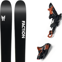 FACTION PRIME 2.0 20 + MARKER KINGPIN 10 75-100MM BLACK/COOPER 20