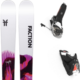 BU SKI FACTION FACTION PRODIGY 2.0 X 20 + LOOK PIVOT 14 GW B115 BLACK/ICON 21 - Ekosport