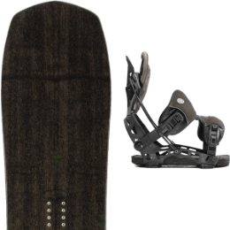 ARBOR CROSSCUT CAMBER 20 + FLOW NX2-GT CHARCOAL 20