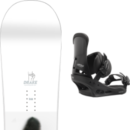 DRAKE TEAM 20 + BURTON CUSTOM BLACK 20