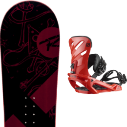 ROSSIGNOL CIRCUIT WIDE 20 + SALOMON RHYTHM RED 20