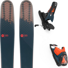 Collection ROSSIGNOL ROSSIGNOL SOUL 7 HD 20 + LOOK SPX 12 GW B120 PETROL/ORANGE 20 - Ekosport