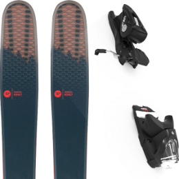 Collection ROSSIGNOL ROSSIGNOL SOUL 7 HD 20 + LOOK NX 12 GW B100 BLACK 20 - Ekosport