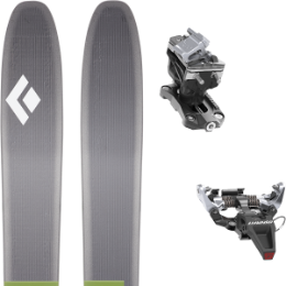 Boutique BLACK DIAMOND BLACK DIAMOND HELIO 116 20 + DYNAFIT SPEED RADICAL SILVER 21 - Ekosport