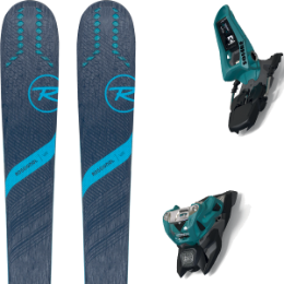 ROSSIGNOL EXPERIENCE 88TI W 20 + MARKER SQUIRE 11 ID TEAL/BLACK 20