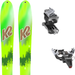 K2 WAYBACK 88 LTD 20 + DYNAFIT SPEED RADICAL SILVER 20