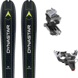 DYNASTAR VERTICAL BEAR 19 + DYNAFIT SPEED RADICAL SILVER 20