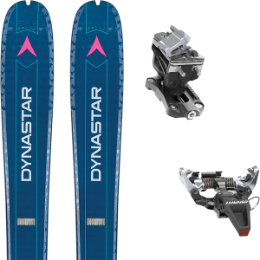 DYNASTAR VERTICAL DOE 19 + DYNAFIT SPEED RADICAL SILVER 20
