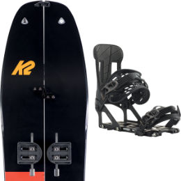 K2 SPLIT BEAN PACKAGE 21 + BURTON HITCHHIKER BLACK 20